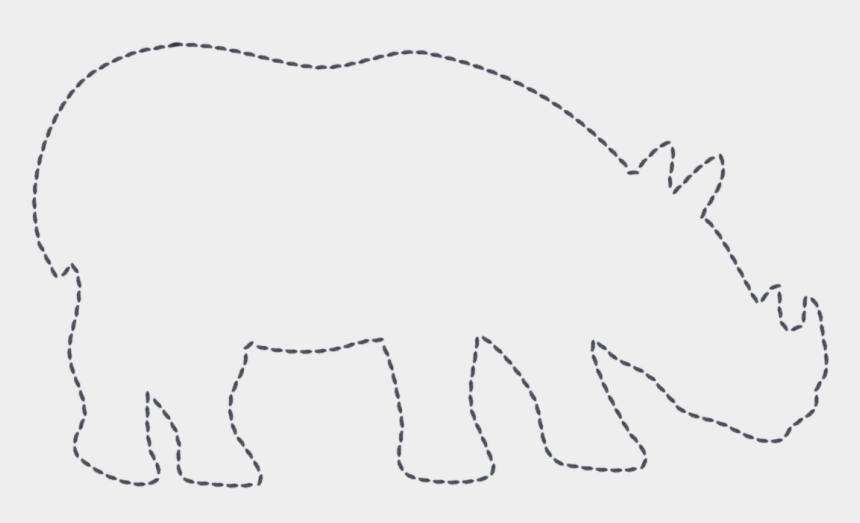 rhino clipart, Cartoons - 29 Images Of Wild Animal Template Leseriail Com - Rhino Template