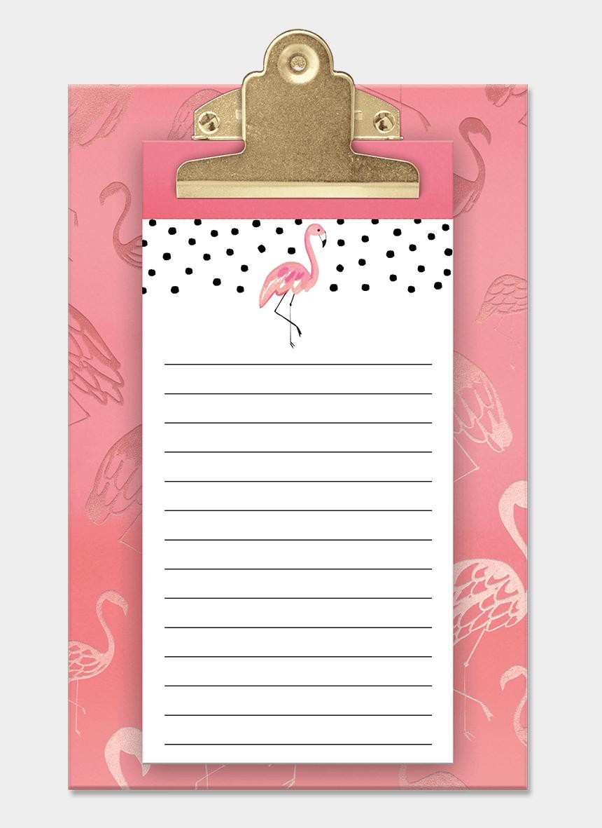 clipboard clipart, Cartoons - Transparent Clipboard Pink - Clipboard Pink