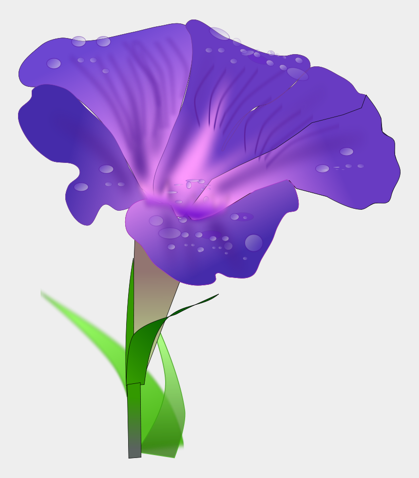 good morning clipart, Cartoons - Digital Display With Good Morning Svg Vector File, - Drawing Of Morning Glory