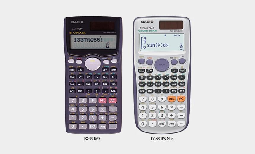 calculator clipart, Cartoons - Scientific Calculator Png Picture - Casio Fx 991 Ms Plus