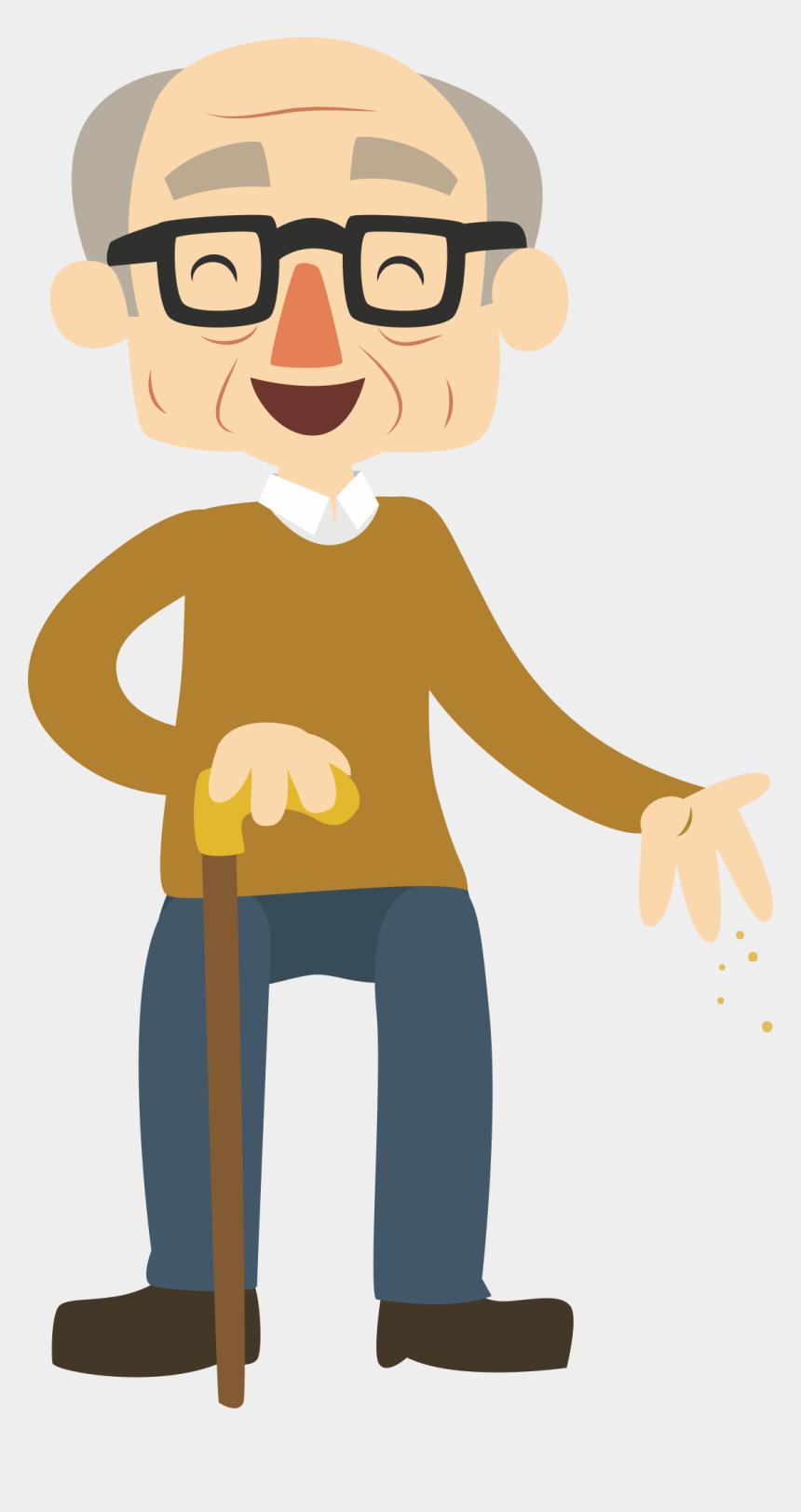 grandma clipart, Cartoons - Grandma Clipart Happy Young Super - Happy Old Man Cartoon