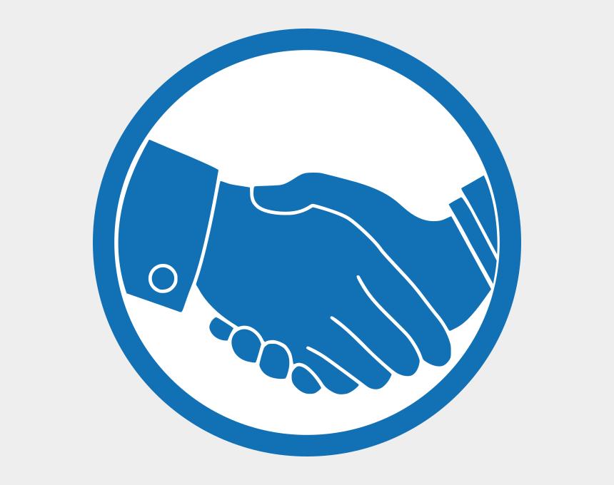 handshake clipart, Cartoons - D Medlab Partners Rd Ⓒ - Shake Hand Logo Png