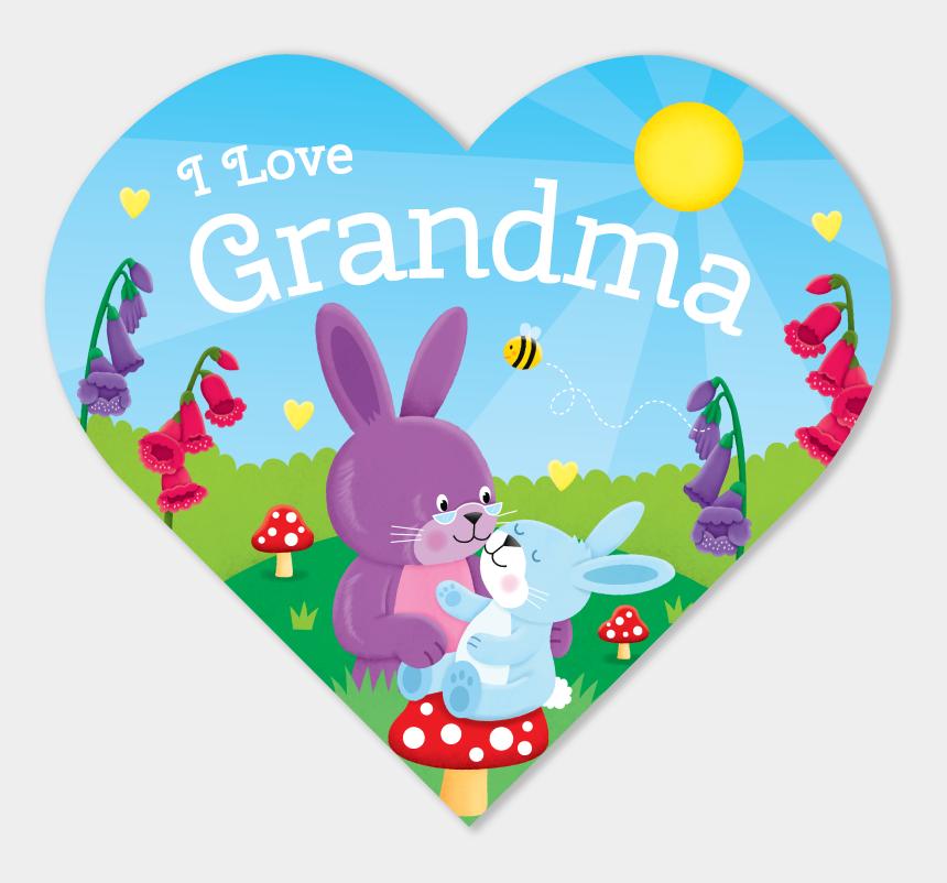 grandma clipart, Cartoons - We Love Grandma Png - Cartoon