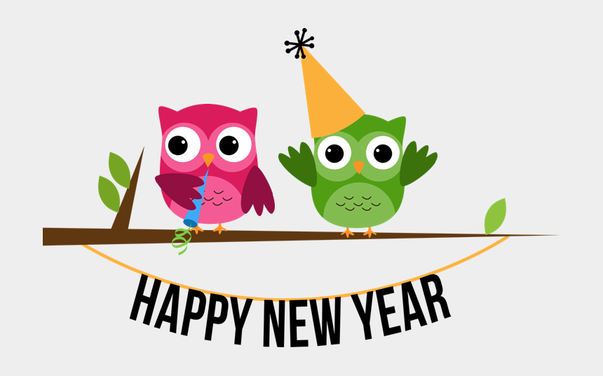 Image result for new year Owl Clipart