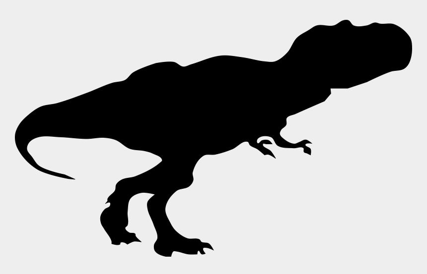 t rex clipart, Cartoons - Tyrannosaurus Dinosaur Silhouette Animal - Tyrannosaurus Rex Silhouette Png
