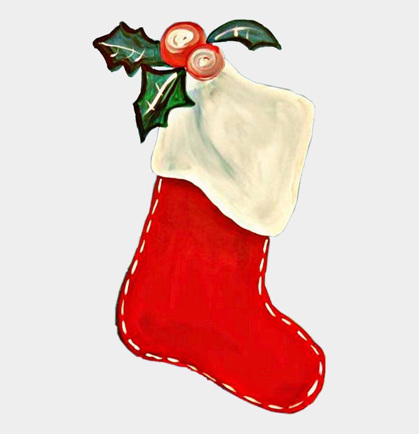 stocking clipart, Cartoons - Christmas Stocking