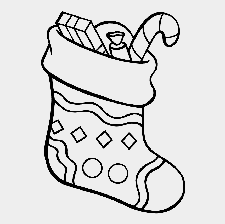 Christmas Stocking Coloring Pages Christmas Stocking