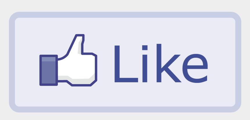 facebook clipart, Cartoons - Facebook Clipart Transparent - Facebook Like Button
