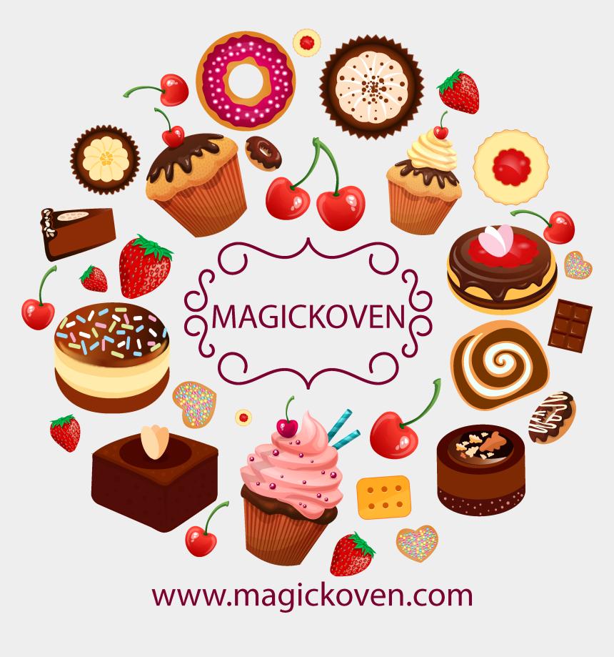 dessert clipart, Cartoons - Baked Goods Clipart Dessert Menu - Dessert Graphics