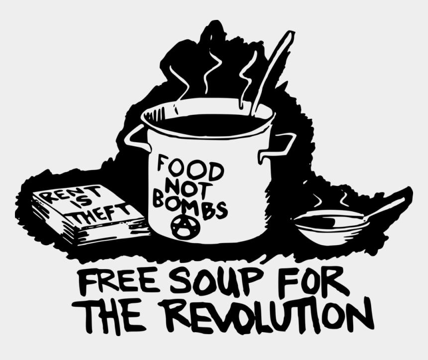 soup clipart, Cartoons - Food Not Bombs
