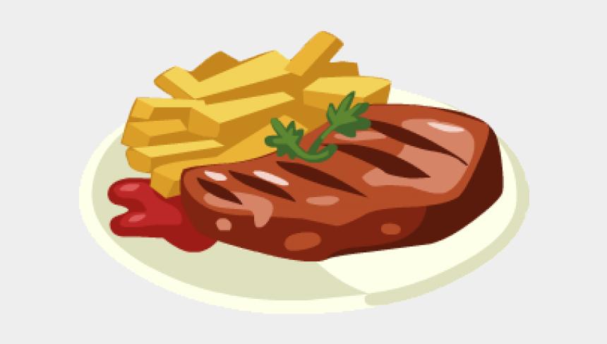 steak clipart, Cartoons - Steak Clipart