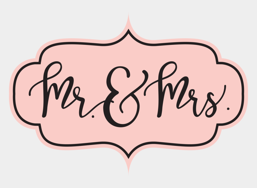 mr clipart, Cartoons - & Mrs - Mr And Mrs Clip Art