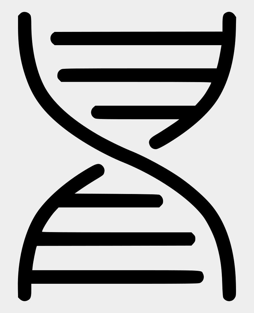 dna clipart, Cartoons - Dna Structure Clipart Svg - Dna Outline