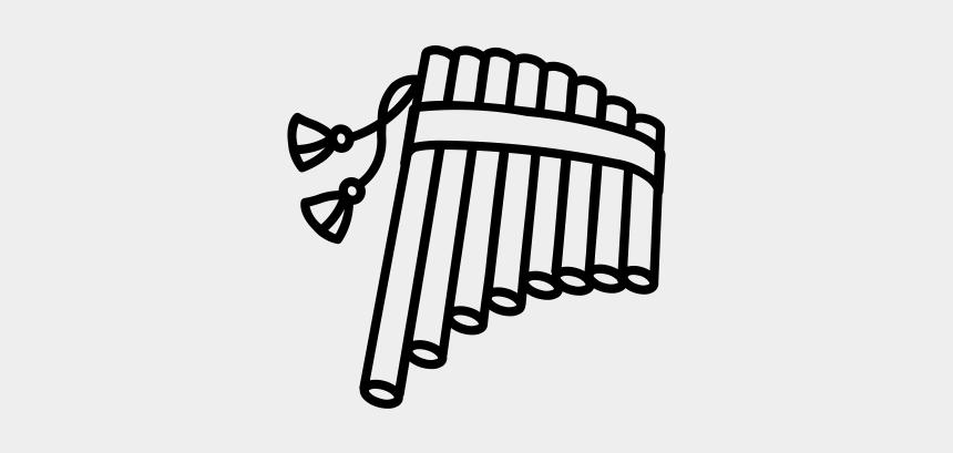 flute clipart, Cartoons - Draw A Pan Flute