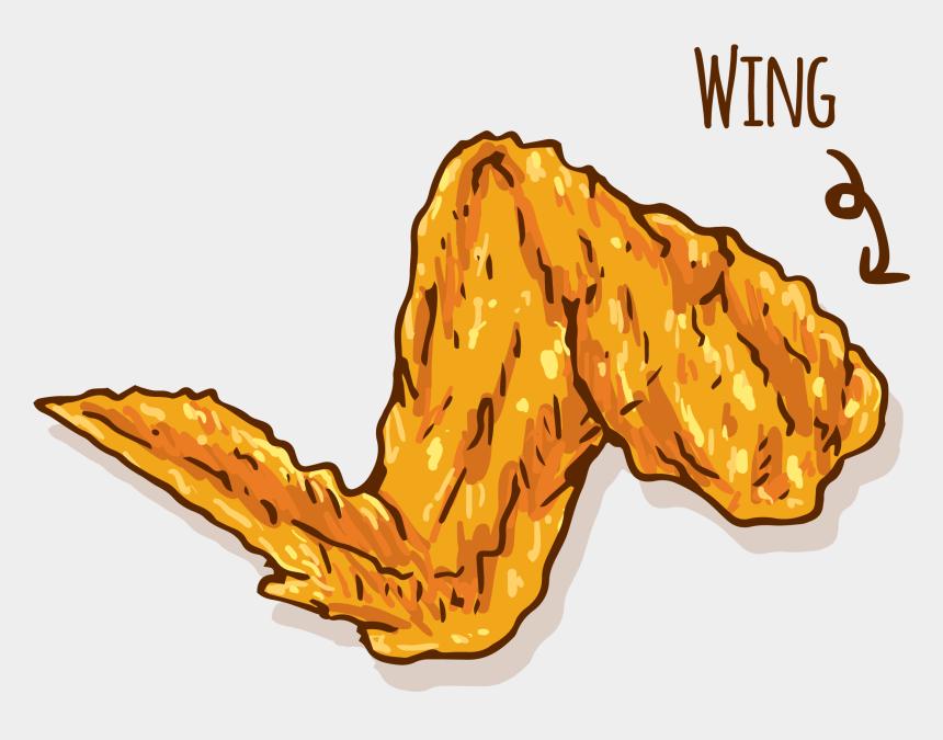 buffalo clipart, Cartoons - Buffalo Wing Png - Chicken Wings Vector Png