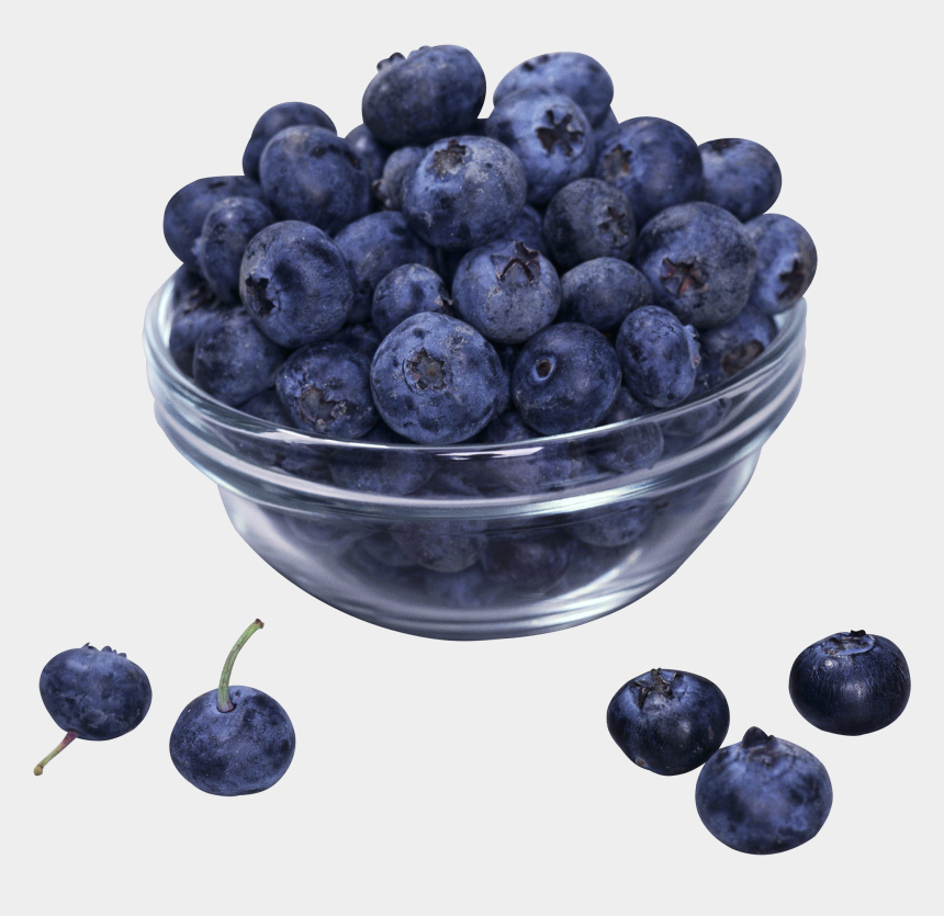 blueberry clipart, Cartoons - Cup Of Blueberries Png
