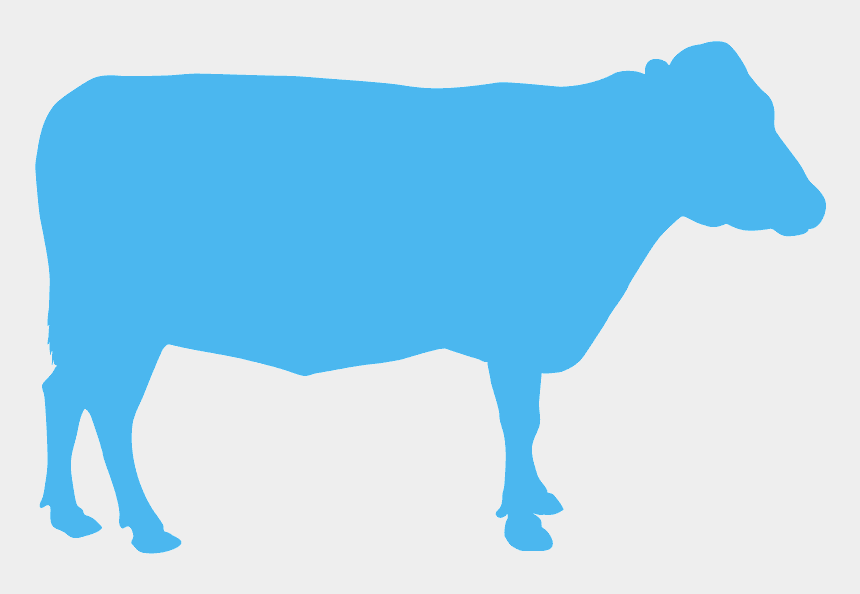 cow head clip art, Cartoons - Vaca Silhueta