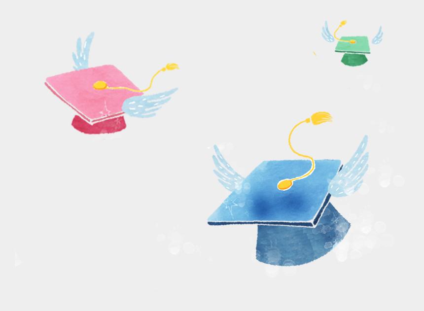 grad cap clip art, Cartoons - Free Png Graduation Cap - 畢業 素材 水彩