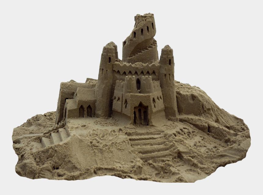 sand castle clip art, Cartoons - Sand Castle Mansion