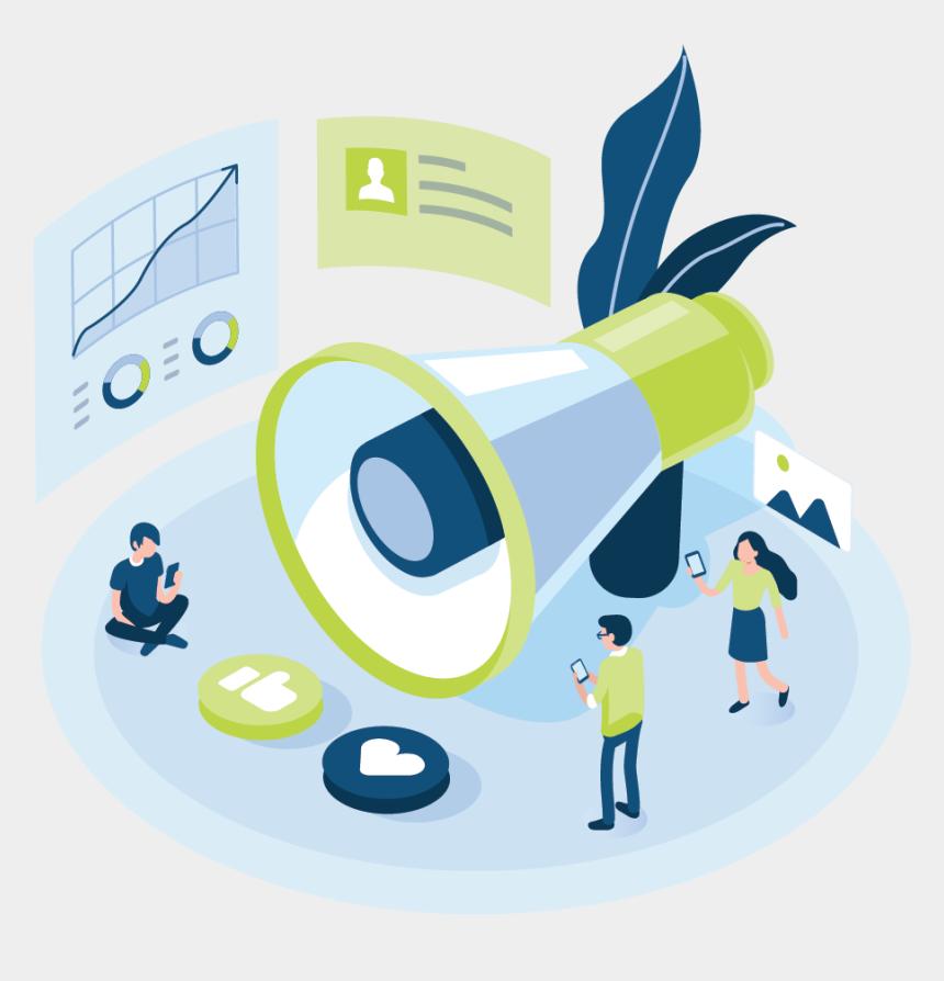 marketing clip art, Cartoons - Illustration Social Marketing - Graphic Design