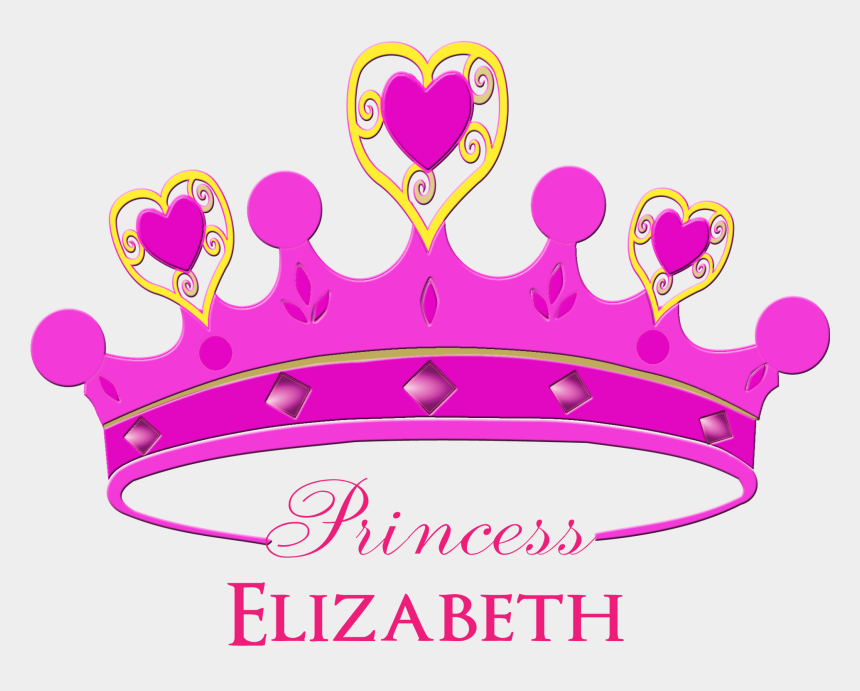 princess crown clip art, Cartoons - Crown Clip Art Girly - Princess Crown In Pink Color