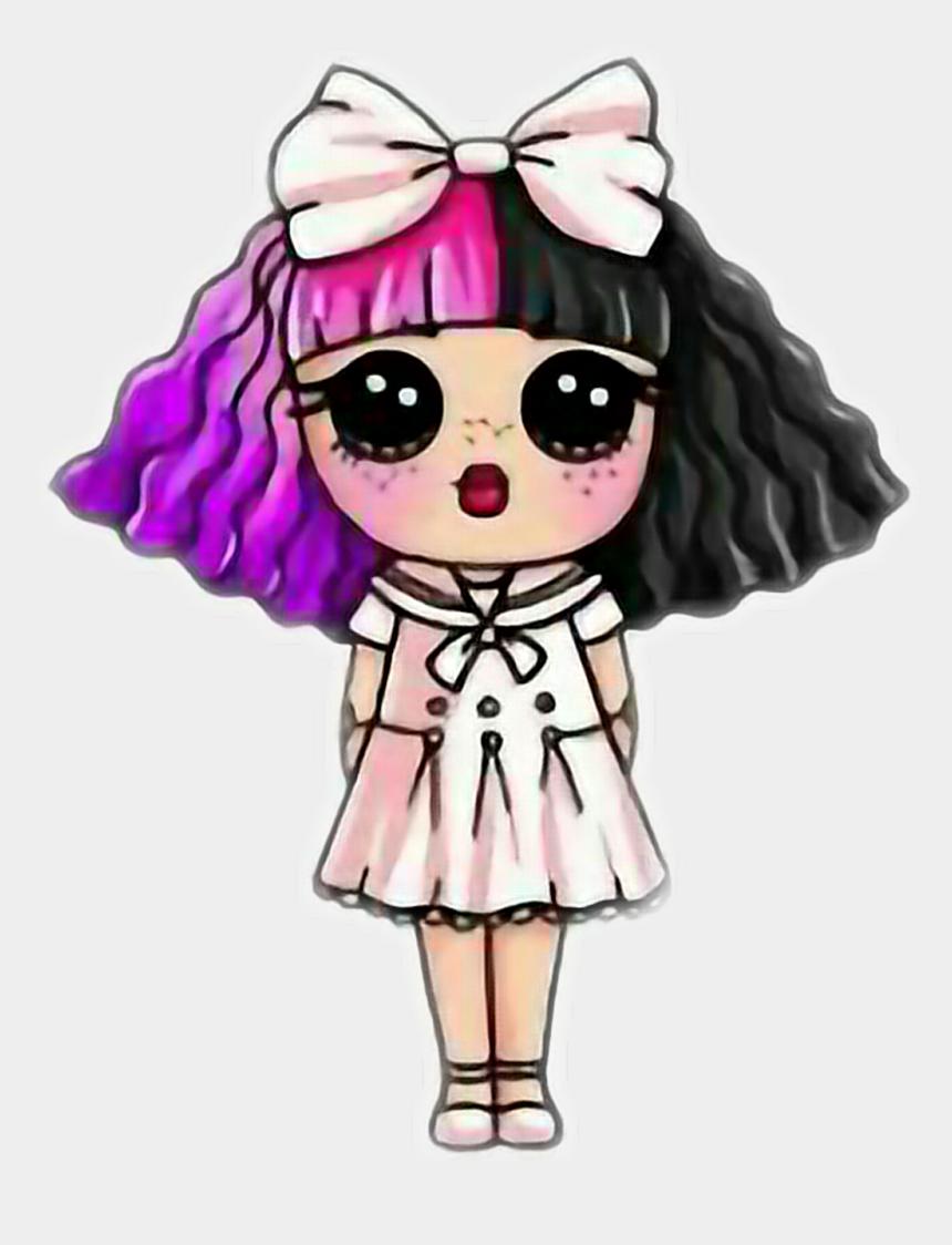 Kawaii Draw So Cute Girl Clipart Png Download Melanie Martinez