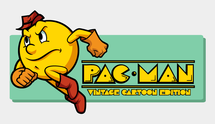 pac man clip art, Cartoons - Clip Art Free Stock Cartoons Vector Vintage - Cartoon