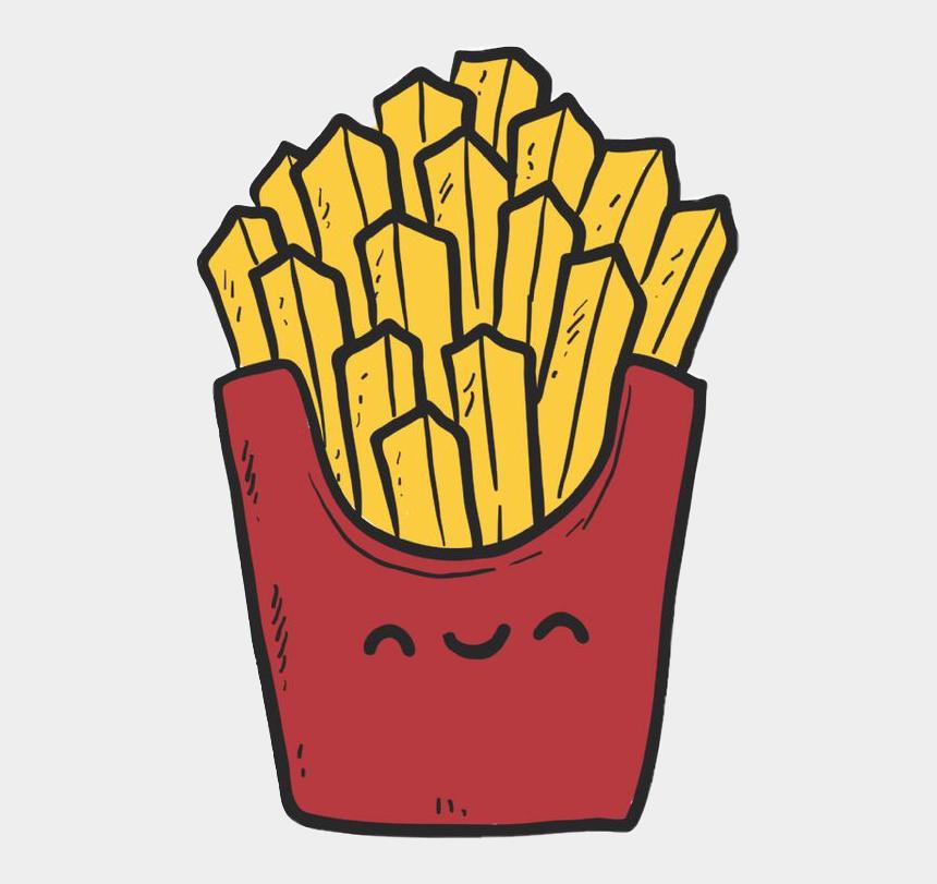 fries clip art, Cartoons - Free Stock Kawaii Clipart Fries - Tela De Bloqueio Com Amiga