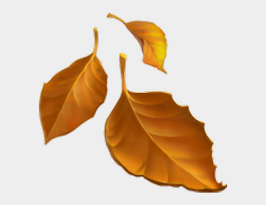 falling leaves clip art, Cartoons - Autumn Leaves Clipart Emoji - Fall Leaves Emoji Transparent