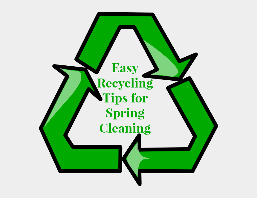 spring cleaning clip art, Cartoons - Easy Recycling Tips - Symbol Clipart