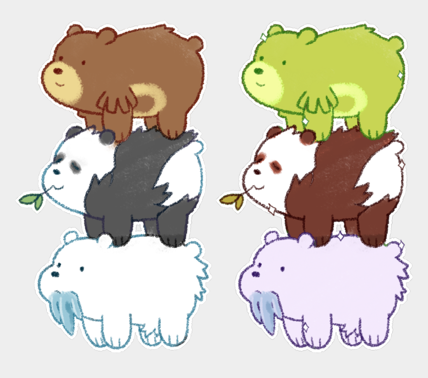 panda bears clip art, Cartoons - Pokémonwe Bare Pokemon - Pokemon We Bare Bears