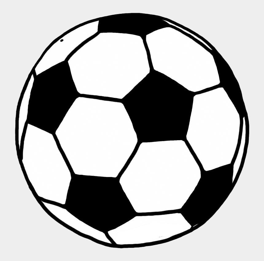 foot ball clip art, Cartoons - Football Line Drawing - Soccer Ball Clipart Transparent