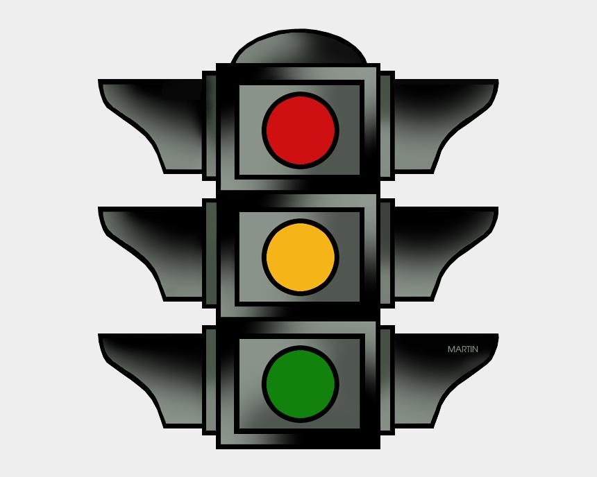 street sign clip art, Cartoons - Traffic Light - Traffic Light Yellow