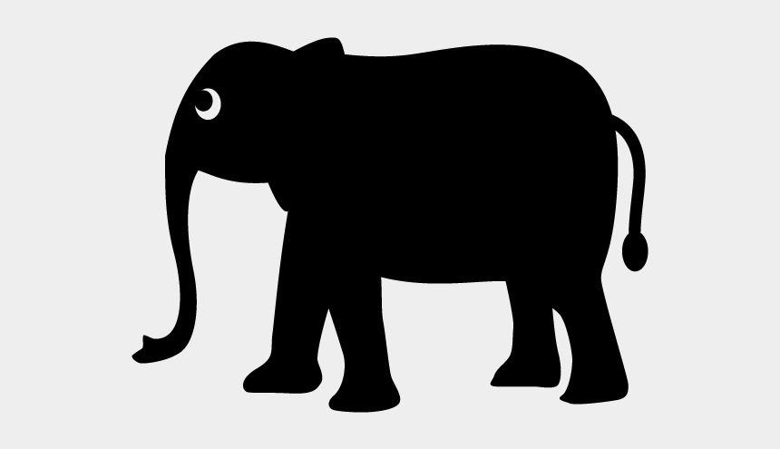 zoo animal clip art, Cartoons - Elephant Marking On Map