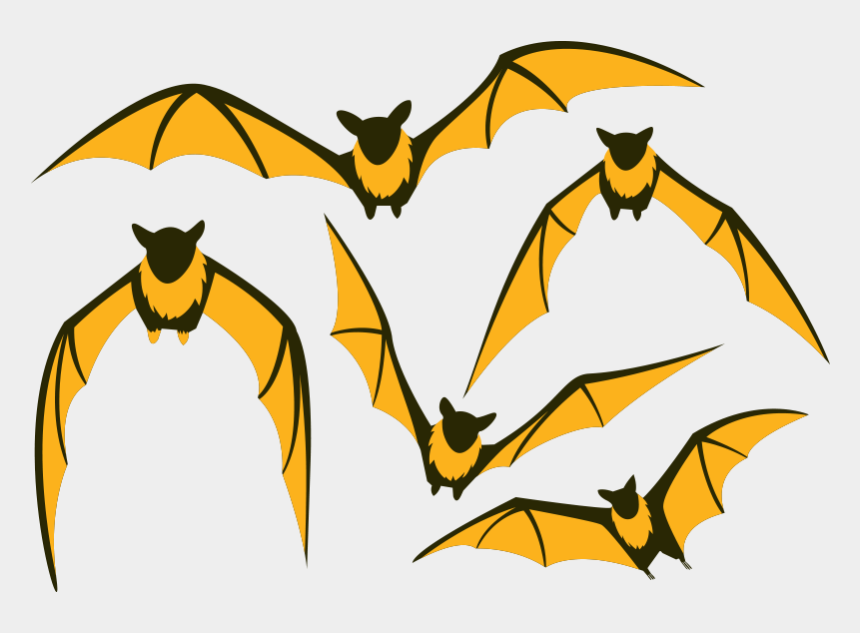 fox images clip art, Cartoons - Bat Flight Large Flying Fox Clip Art - Animated Flying Bat Png