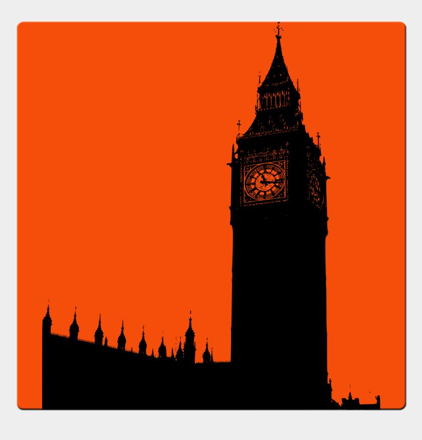 big ben clip art, Cartoons - Big Ben Silhouette Png