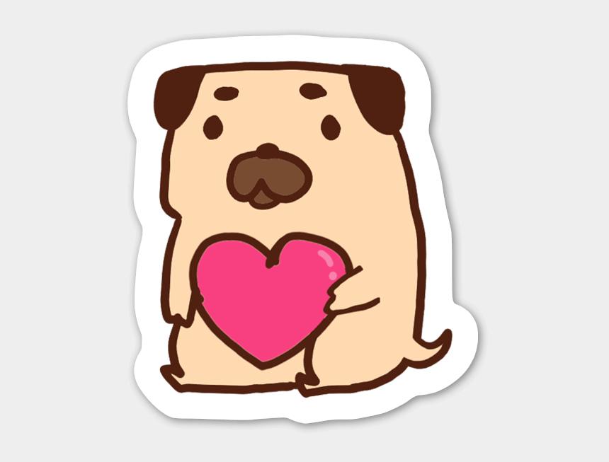 cute dog clip art, Cartoons - Cute Dog Sticker - Dog Stickers Png