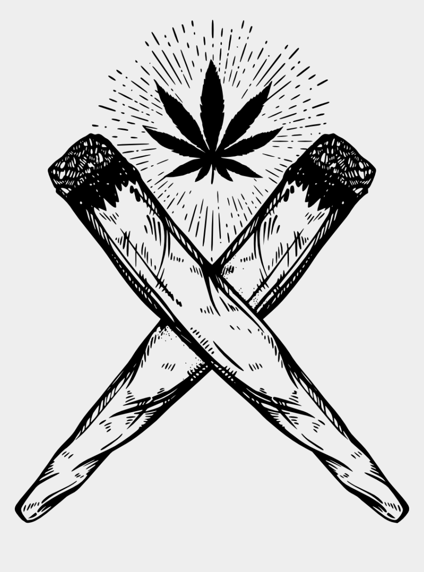 joint clip art, Cartoons - Joint Drawing Cannabis Smoking - Joint Drawing