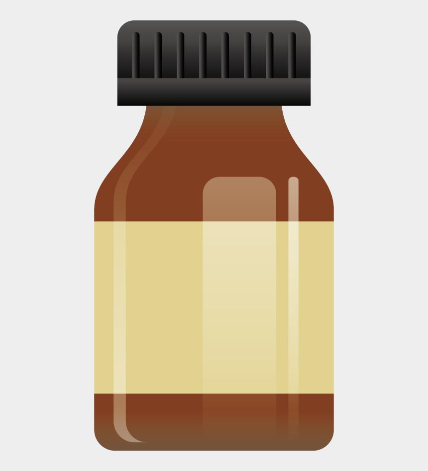 pill bottle clip art, Cartoons - Bottle Adobe Illustrator - Bottle Vector Hd Png