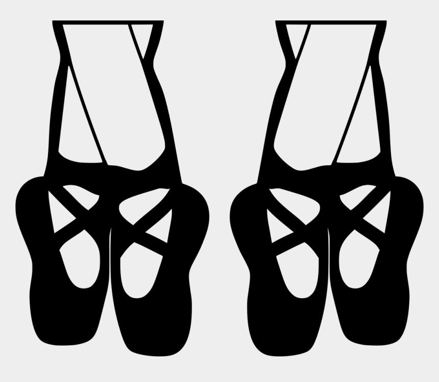 dance shoes clip art, Cartoons - Clip Art Ballet Shoes