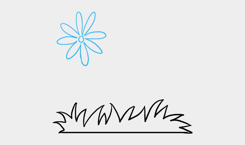 flower garden clip art, Cartoons - How To Draw Flower Garden - Draw Flowers N Garden