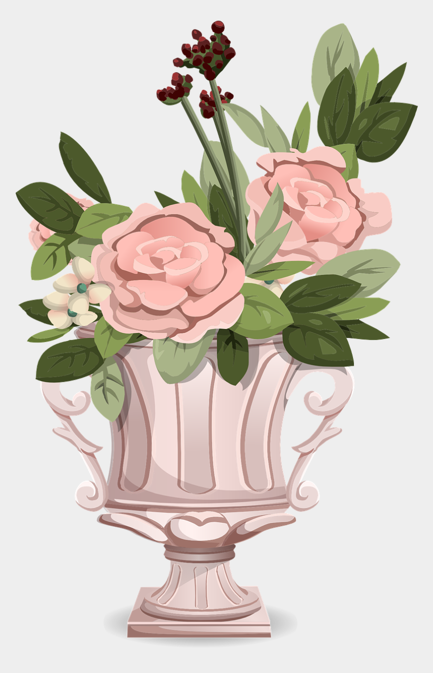 bouquet of flowers clip art, Cartoons - Bouquet Flowers Roses Free Picture - Thank You For The Birthday Wishes Flowers