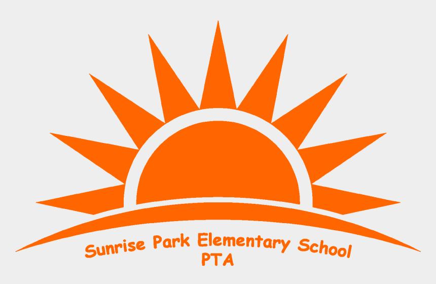 sun rise clip art, Cartoons - Spes Pta Logo Orange - High Performance Habits Worksheet