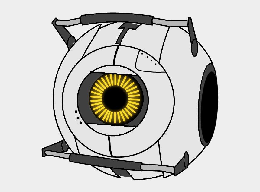 portal clipart, Cartoons - Space Portal Png - Portal 2 Space Core Drawing