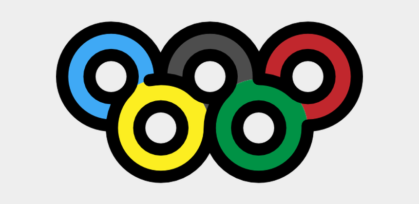 games clipart, Cartoons - Olympic Games Clipart Olympic Rings - Sports Symbols Transparent