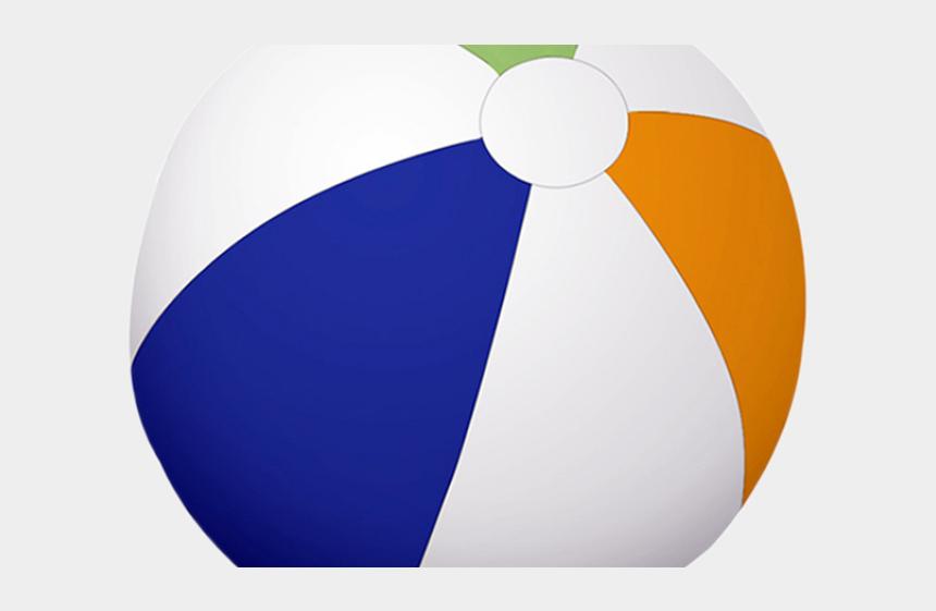 beach ball clipart, Cartoons - Beach Ball Clipart Colored Ball - Circle