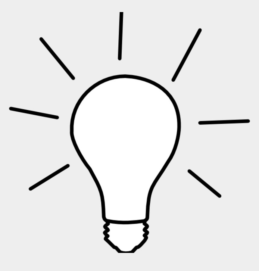 bulb clipart, Cartoons - Light Bulb Clip Art Png - Light Clipart Black And White