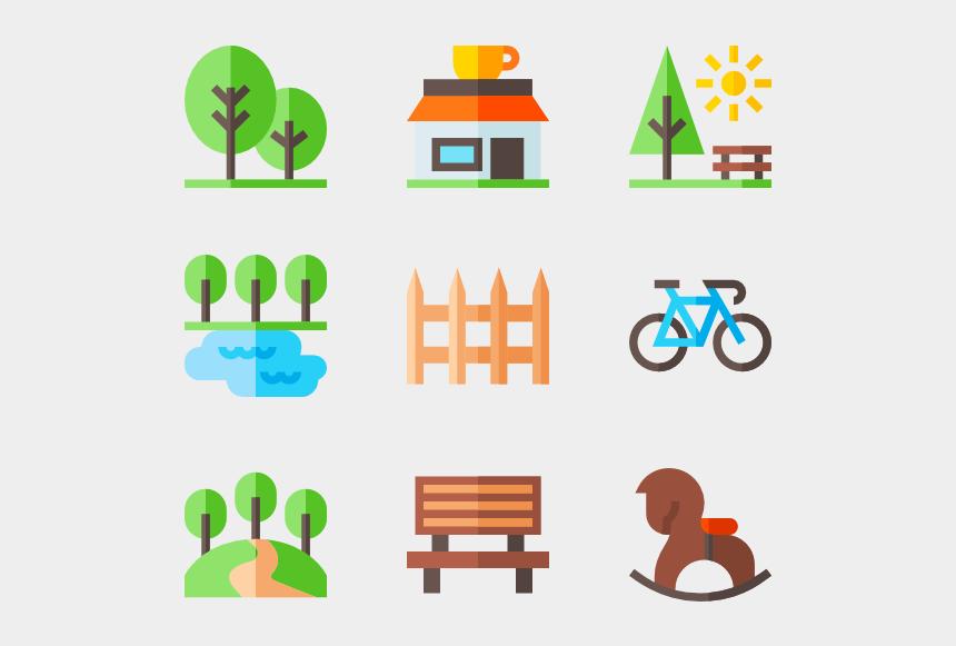 city clipart, Cartoons - City Clipart City Landscape - Icon Flat Design Png