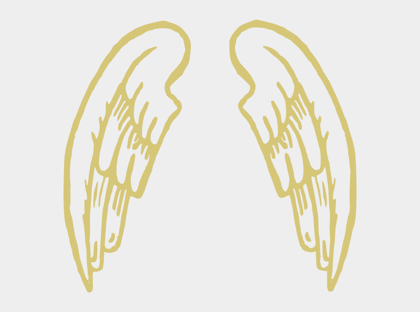 image relating to Snitch Wings Printable titled Wing Clipart Snitch - Angel Wings Cartoon Png, Cliparts