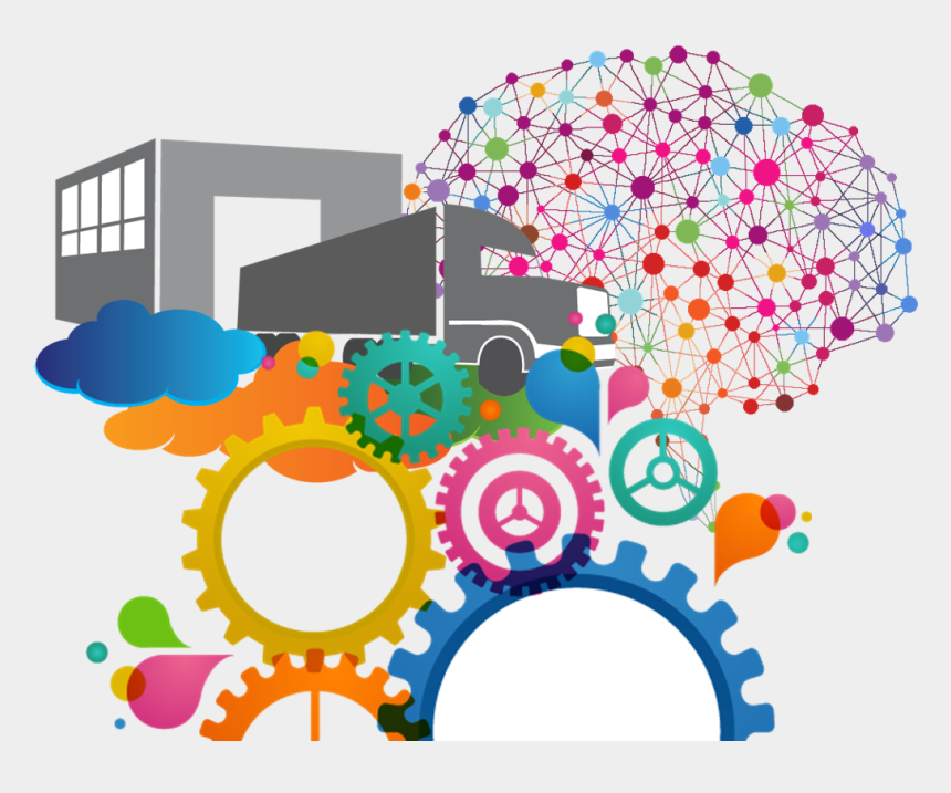 chain clipart, Cartoons - How Technology Is Changing The Supply Chain - Graphic Designer Courses